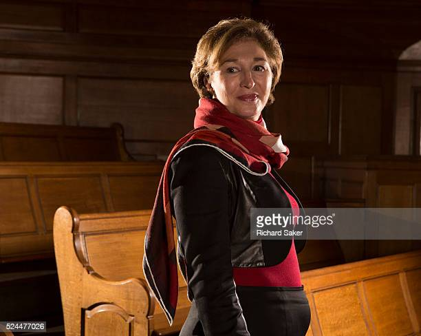 International lawyer foreign policy analyst political scientist and public commentator AnneMarie Slaughter is photographed for the Observer on...