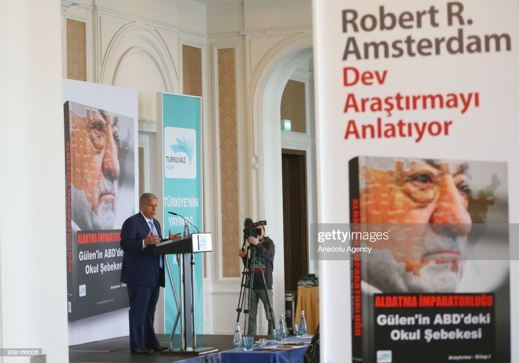International Lawyer Of The Law Firm Amsterdam Partners Roberts Speaks During A Press
