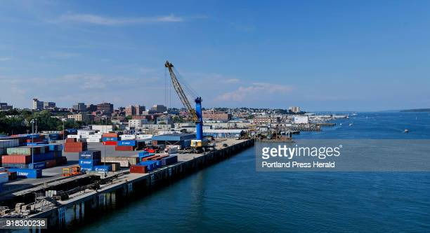 International Marine Terminal in Portland Maine Department of Transportation plans to use the $21 million from a federal settlement with Volkswagen...