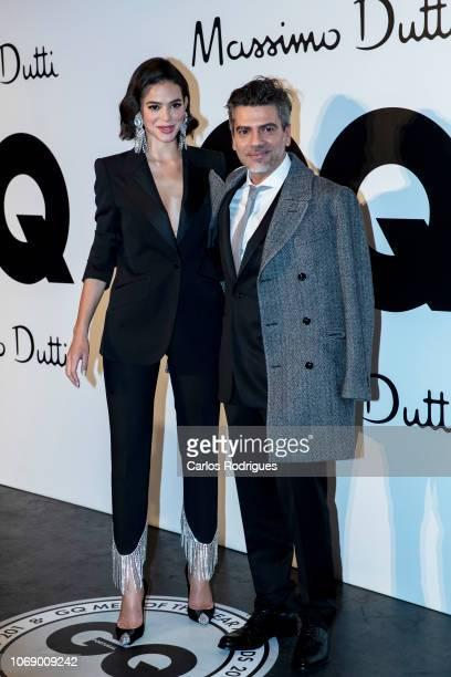 International model Bruna Marquezine and GQ Portugal CEO Jose Santana attends GQ Men of the Year Awards 2018 at Teatro Sao Jorge on November 17 2018...