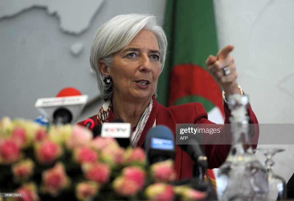 ALGERIA-ECONOMY-IMF : News Photo