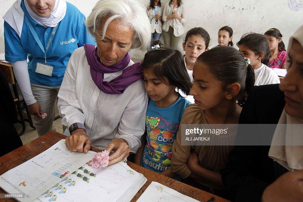 International Monetary Fund chief, French Christine Lagarde