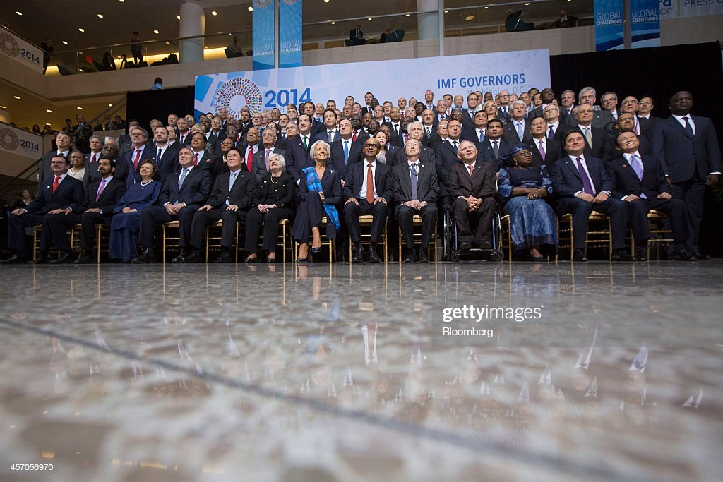 Attendees At The International Monetary Fund And World Bank Group Annual Meetings