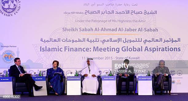International Monetary Fund Financial Counsellor and Director Jose Vinals Governor of Malaysia's central bank Zeti Akhtar Aziz Governor of Bahrain's...