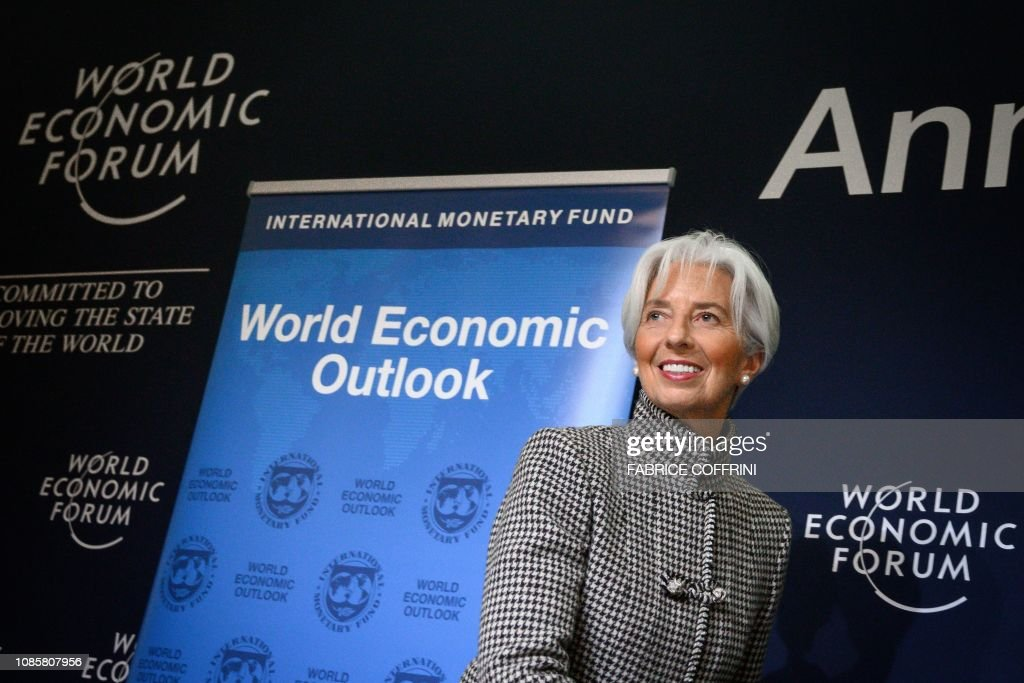 SWITZERLAND-DAVOS-politics-economy-diplomacy : News Photo