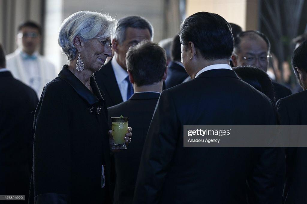 G20 Turkey Leaders Summit : News Photo