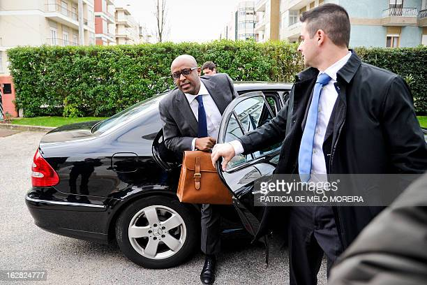 International Monetary Fund mission chief for Portugal, Abebe Selassie arrives at the headquartes of the Economic and Social Council in Lisbon on...