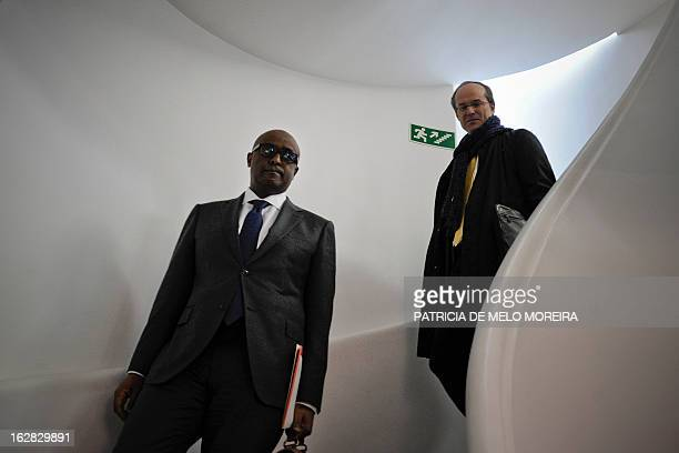 International Monetary Fund mission chief for Portugal, Abebe Selassie leaves the headquartes of the Economic and Social Council in Lisbon on...