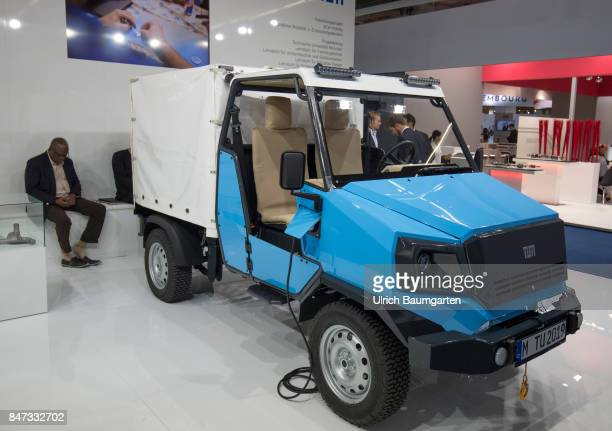 International Motor Show 2017 in Frankfurt aCar the electric allrounder rural mobility in developing countries A development among others of the...