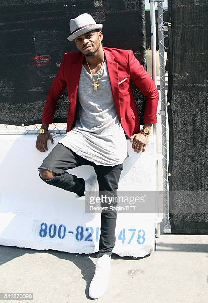International nominee Diamond Platnumz attends 106 Park sponsored by Apple Music during the 2016 BET Experience at Microsoft Square on June 24 2016...