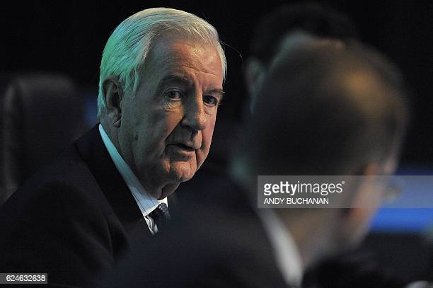 International Olympic Committee executive member and current president of the World AntiDoping Agency Craig Reedie and WADA directorgeneral Olivier...