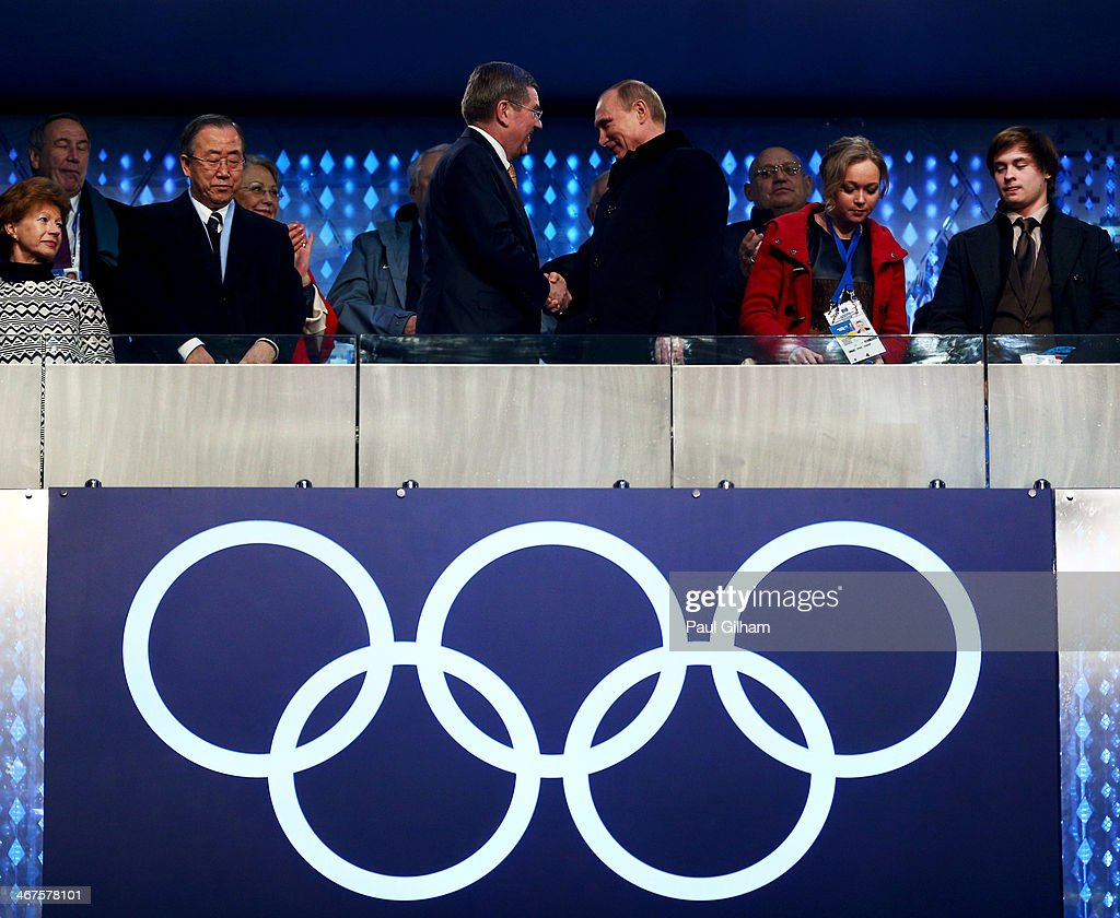 2014 Winter Olympic Games - Opening Ceremony : Foto jornalística