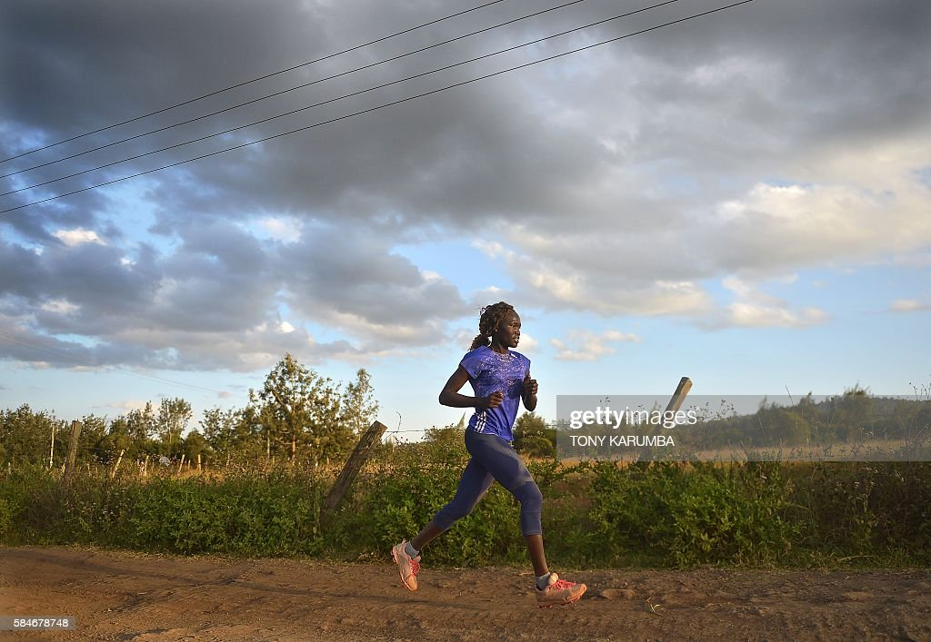 KENYA-SSUDAN-ATHLETICS-REFUGEE-OLY-2016 : News Photo