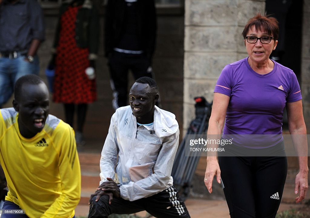 KENYA-SSUDAN-ATHLETICS-REFUGEE-OLY-2016 : News Photo