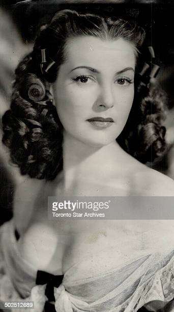 International reciprocity in film stars is illustrated by Patricia Roc one of England's leading film beauties She is the first to go to Hollywood...