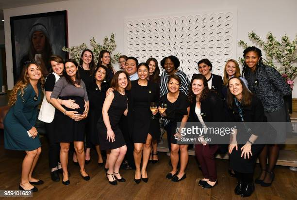 International Rescue Committee staff attend 'This is Home A Refugee Story' New York Premier Screening at Crosby Street Hotel on May 16 2018 in New...