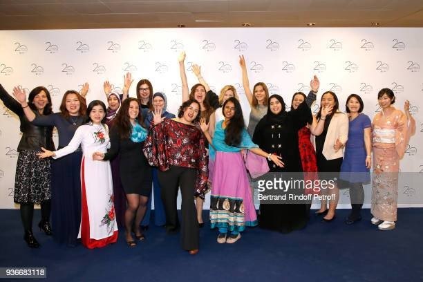 oreal unesco for women in science awards ceremony ストックフォトと