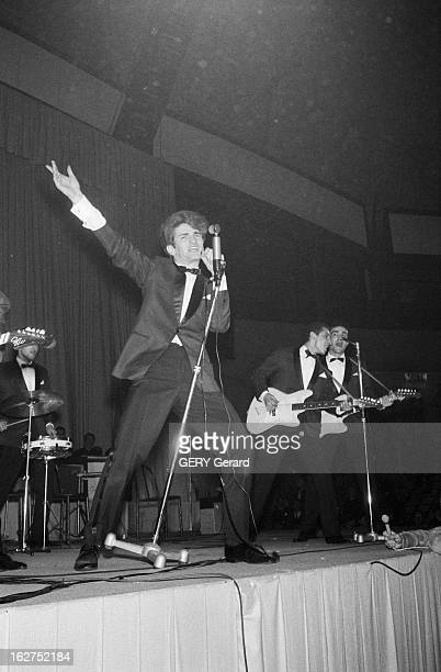 International Rock'N'Roll Festival At The Palais Des Sports De Paris. Paris, 24 février 1961 : Festival international de rock' n' roll au palais des...