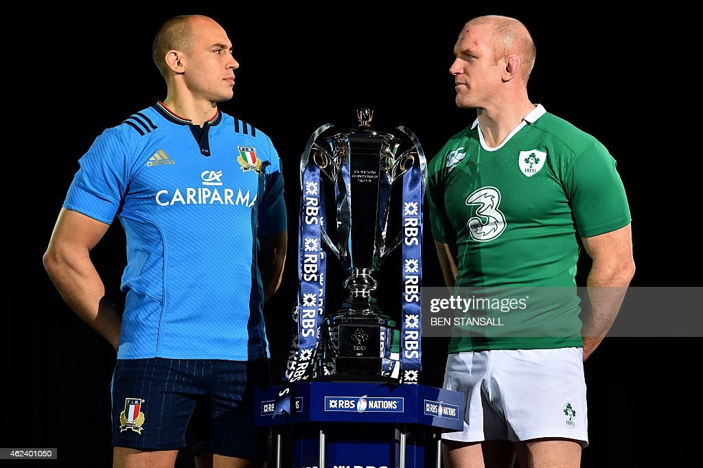 RUGBYU-6NATIONS-LAUNCH : News Photo