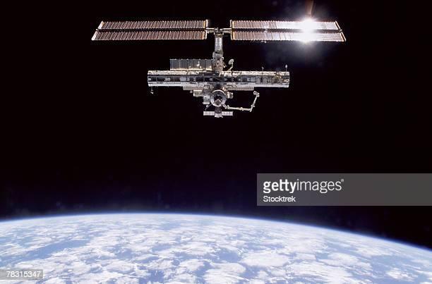International Space Station in atmosphere