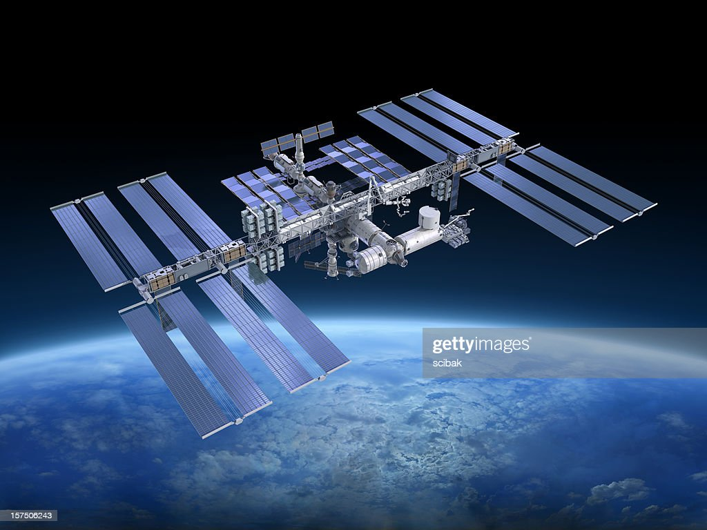 International Space Station ISS : Stock Photo