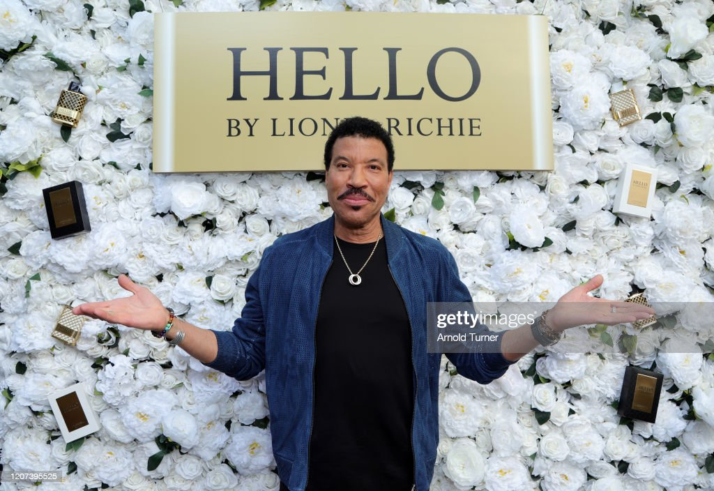 International Superstar Lionel Richie Celebrates His Premiere Fragrance Line, HELLO By Lionel Richie, In LA, Inspired By His Passion For Love And Music... : News Photo