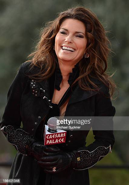 Shania twain pictures and photos getty images international superstar shania twain speaks to fans after riding up the las vegas strip on horseback m4hsunfo