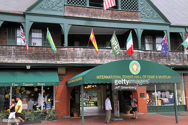 International Tennis Hall of Fame & and Museum entrance.
