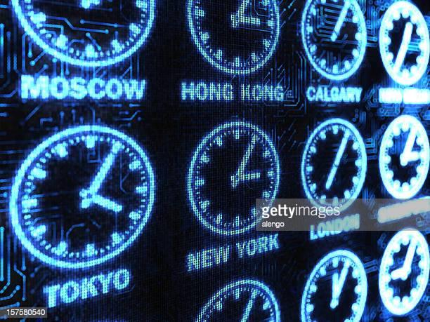 tiempo de fondo internacional - cambio horario fotografías e imágenes de stock