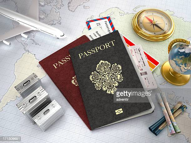 Viagens internacionais