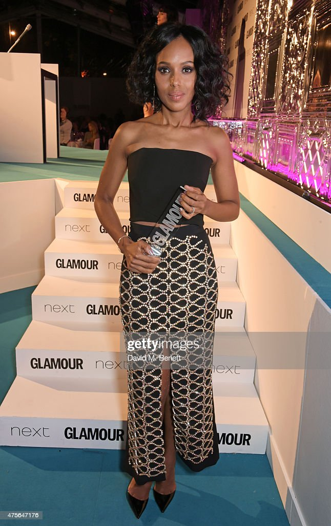 International TV Actress of the Year winner Kerry Washington attend the Glamour Women Of The Year awards at Berkeley Square Gardens on June 2, 2015 in London, England.