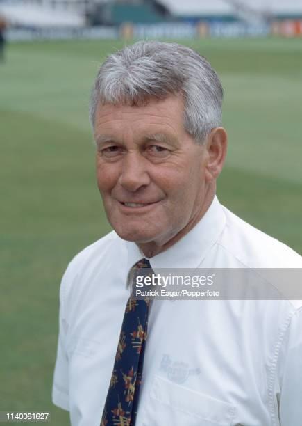 International umpire Ray Julian during the 1st Texaco Trophy OneDay International between England and Australia at Headingley Leeds 22nd May 1997