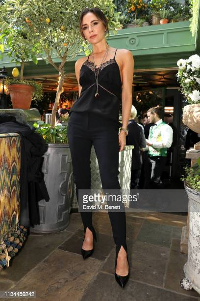 International Women's Day edition of Breakfast at Annabel's with Victoria Beckham OBE businesswoman and fashion designer in conversation with...