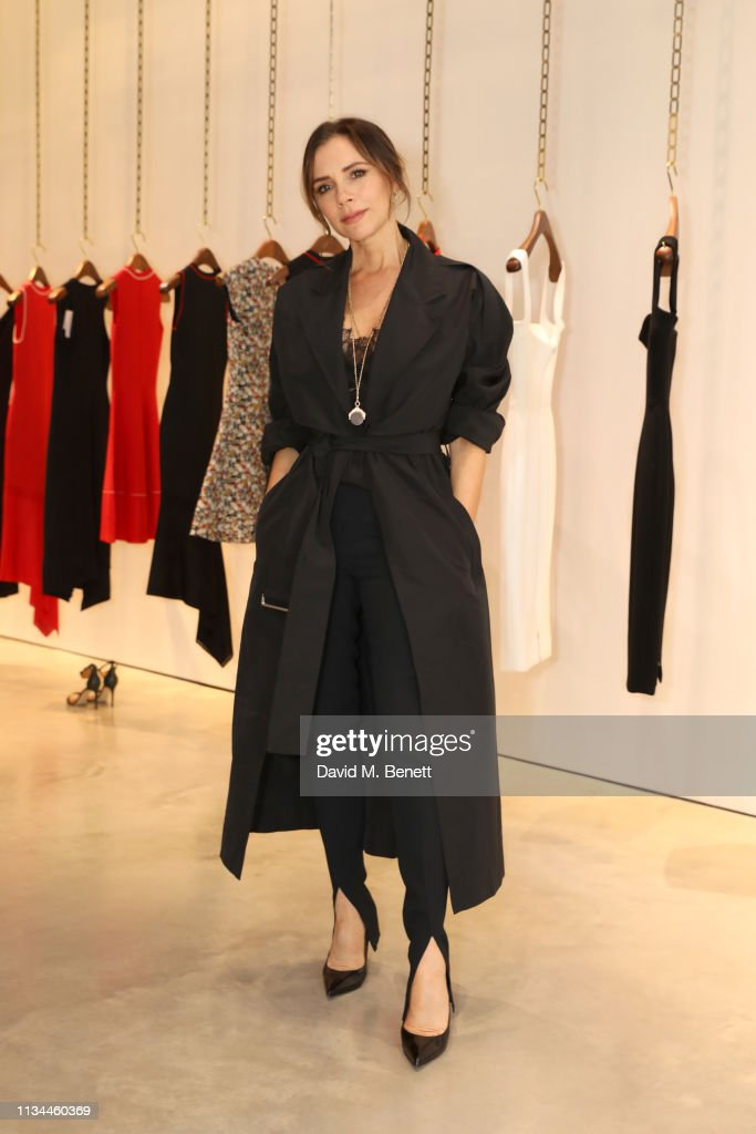 International Women's Day Breakfast At Annabel's With Farfetch And Victoria Beckham : News Photo