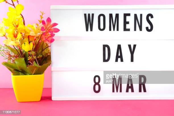 international women's day - internationale vrouwendag stockfoto's en -beelden
