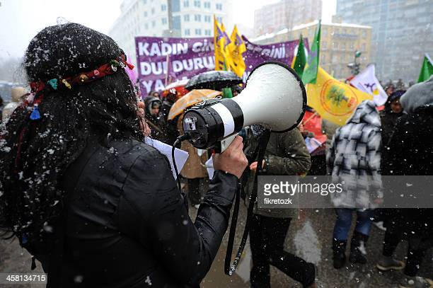 international women's day - campaigner stock pictures, royalty-free photos & images