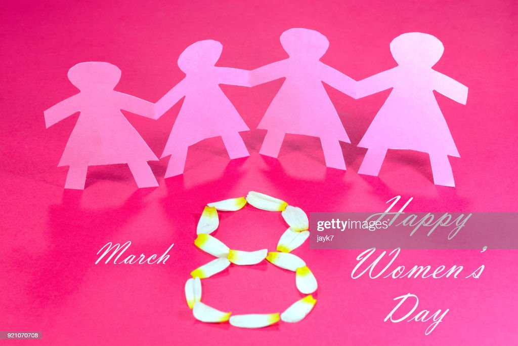 International Women's Day : Foto de stock