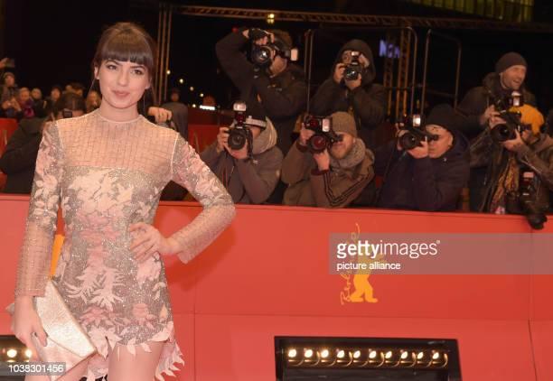 67 Internationale Filmfestspiele in Berlin am Premiere «T2 Trainspotting» Die Schauspielerin Anjela Nedyalkova Der Film läuft auf der Berlinale im...