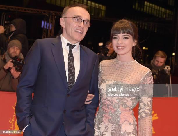 67 Internationale Filmfestspiele in Berlin am Premiere «T2 Trainspotting» Regisseur Danny Boyle und die Schauspielerin Anjela Nedyalkova Der Film...