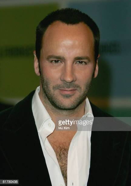"Internationally acclaimed fashion designer Tom Ford, who parted from both Gucci and Yves Saint Laurent last season, signs copies of his new book ""Ten..."