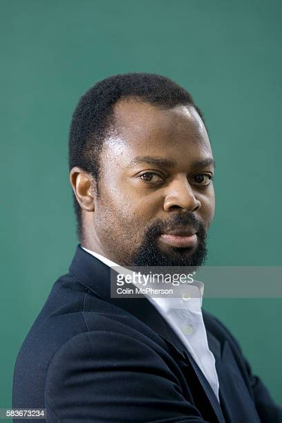 Internationallyacclaimed Booker prizewiining Nigerian author Ben Okri pictured at the Edinburgh International Book Festival where he launched his new...