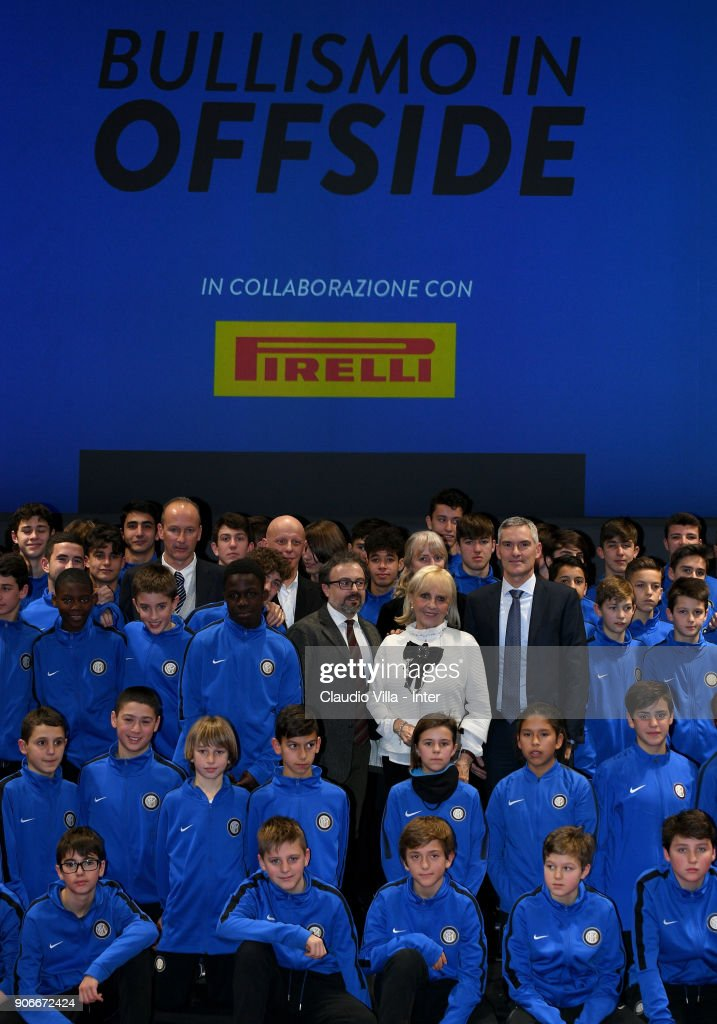 FC Internazionale Against Bullying Event