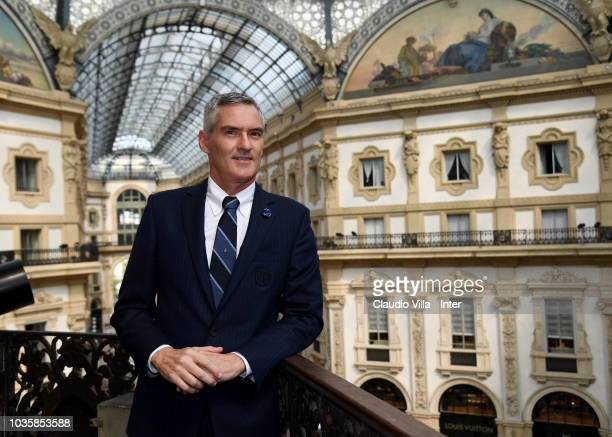 Internazionale Alessandro Antonello poses for a photo during UEFA official lunch on September 18 2018 in Milan Italy