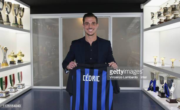 Internazionale Cedric Soares attends the Contract Signing on January 25 2019 in Milan Italy