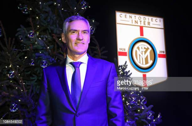 Internazionale Corporate CEO Alessandro Antonello attends the FC Internazionale Xmas Dinner on December 18 2018 in Milan Italy