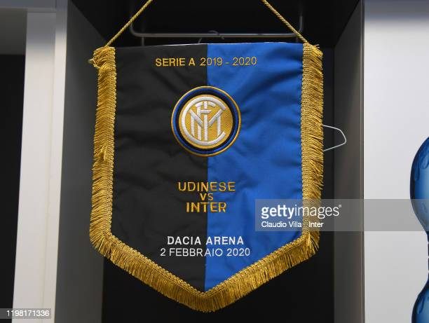 Internazionale dressing room ahead of the Serie A match between Udinese Calcio and FC Internazionale at Stadio Friuli on February 2, 2020 in Udine,...
