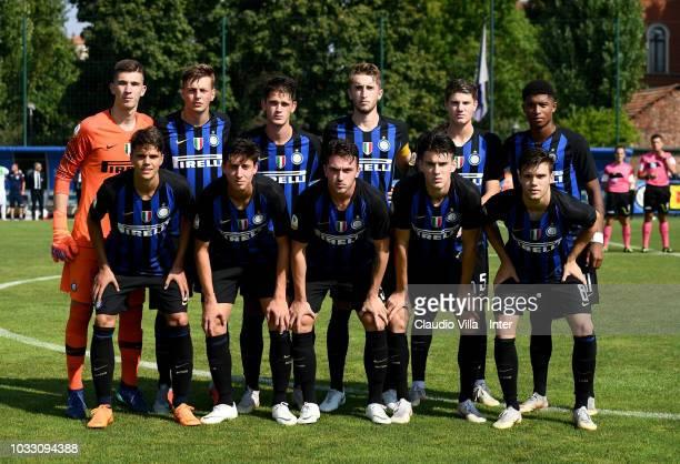 Internazionale during Fc Internazionale U19 V Cagliari U19 match at Stadio Breda on September 14 2018 in Sesto San Giovanni Italy