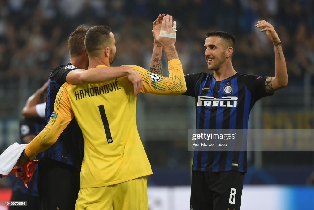 FC Internazionale v Tottenham Hotspur - UEFA Champions League Group B : News Photo