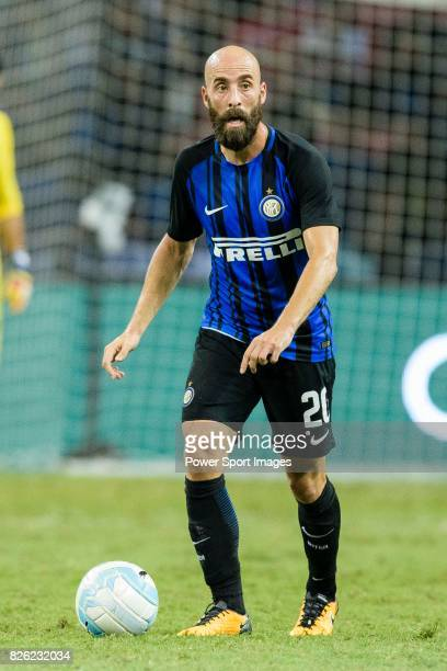 Internazionale Midfielder Borja Valero in action during the International Champions Cup 2017 match between FC Internazionale and Chelsea FC on July...