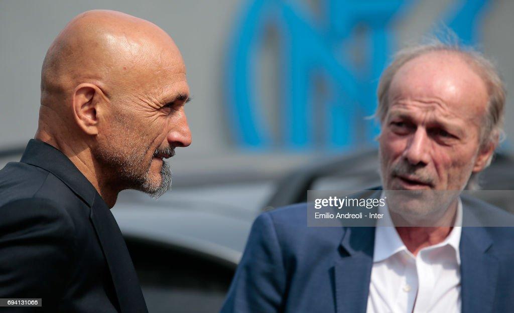FC Internazionale Unveils New Coach Luciano Spalletti